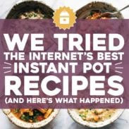 Top Instant Pot recipes from the internet.