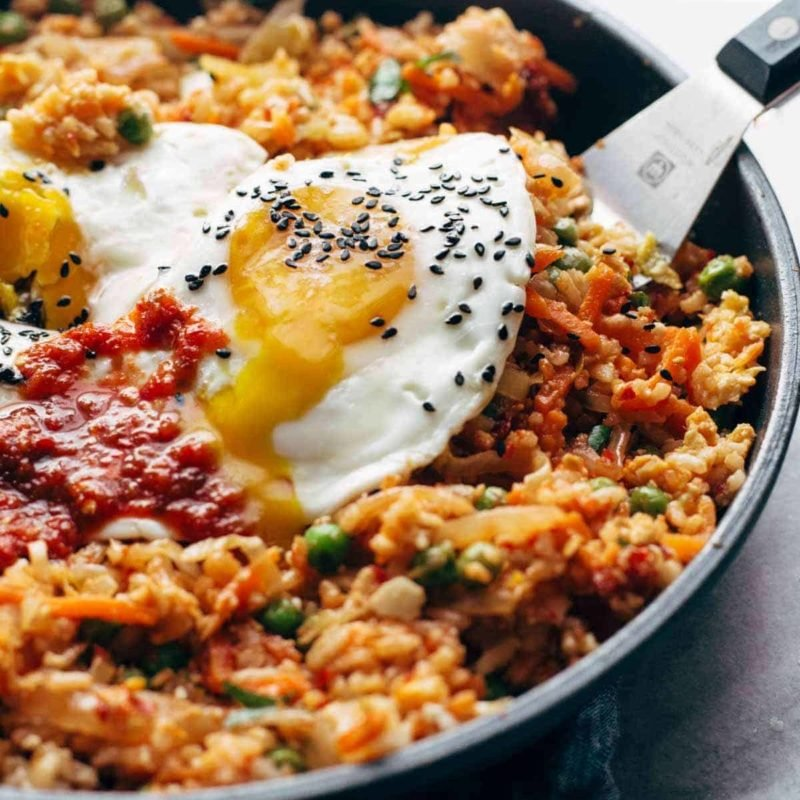 A picture of Kimchi Fried Rice