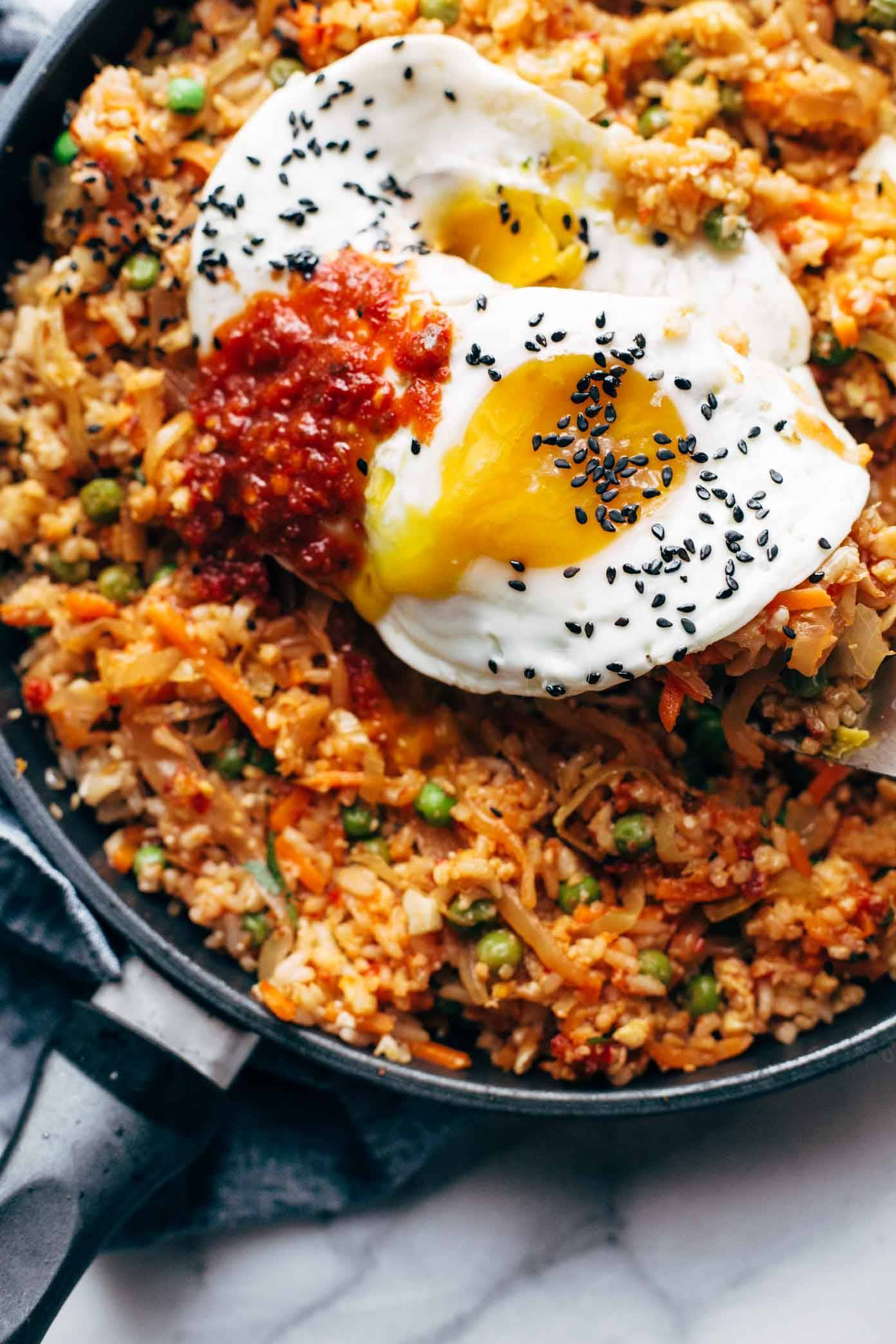 how to make thai fried rice with egg