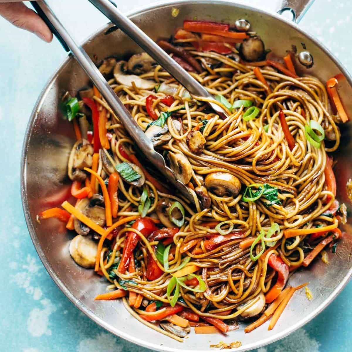 15 minute lo mein recipe pinch of yum forumfinder Images