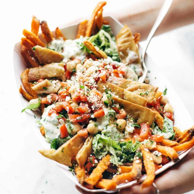 A picture of Loaded Mediterranean Street Cart Fries