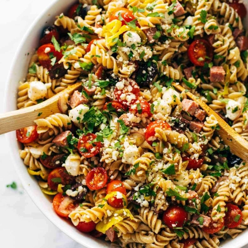 A picture of The Best Easy Pasta Salad