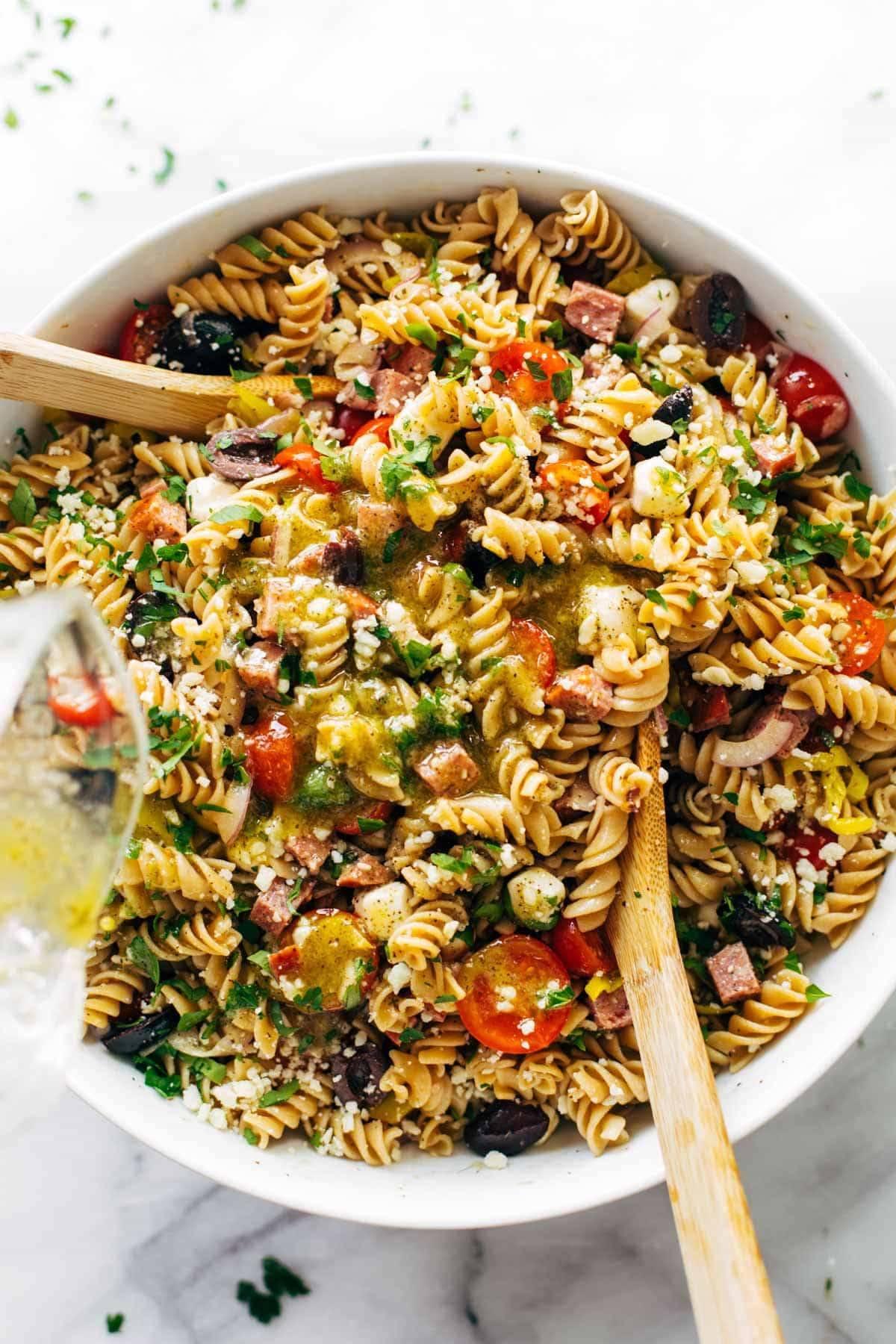 The Best Easy Italian Pasta Salad