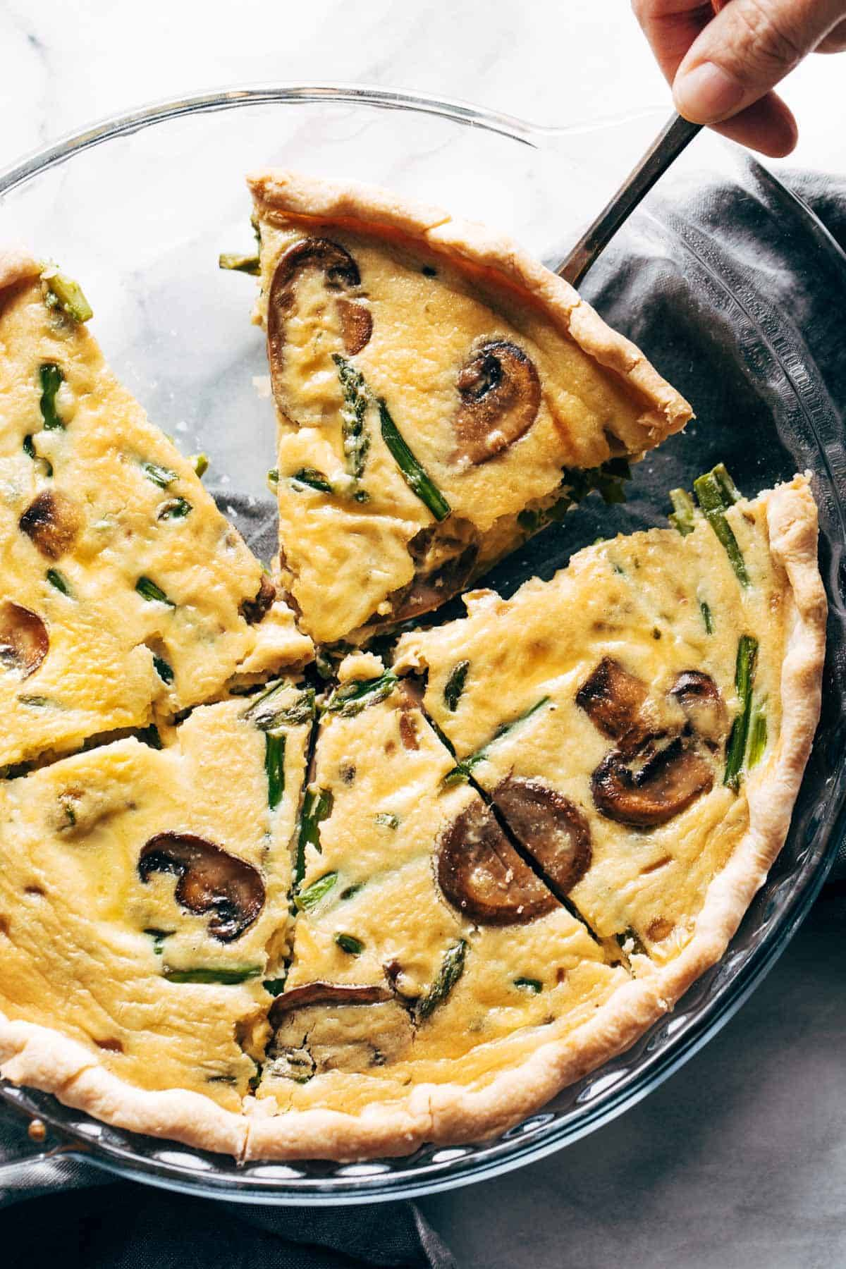 Springy Vegetable Quiche Recipe Pinch Of Yum