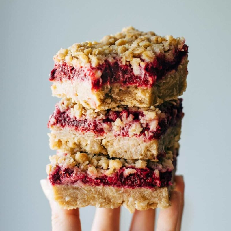 A picture of Raspberry Crumble Bars