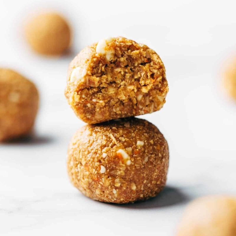 A picture of Raw Vegan Carrot Cake Bites