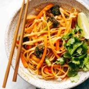 A picture of Red Curry Noodles