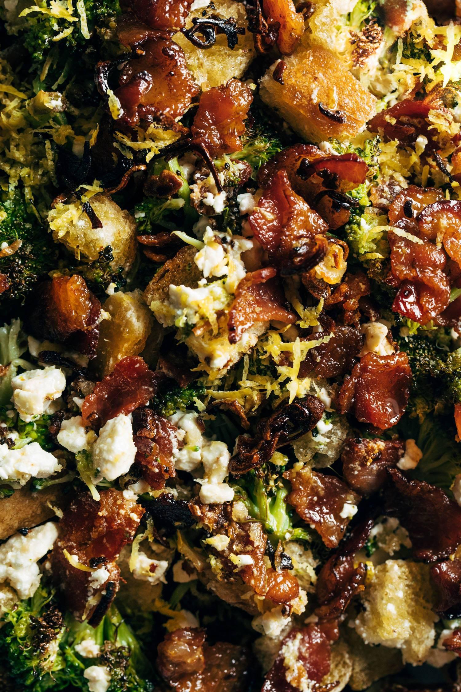 Liz's Roasted Broccoli Salad