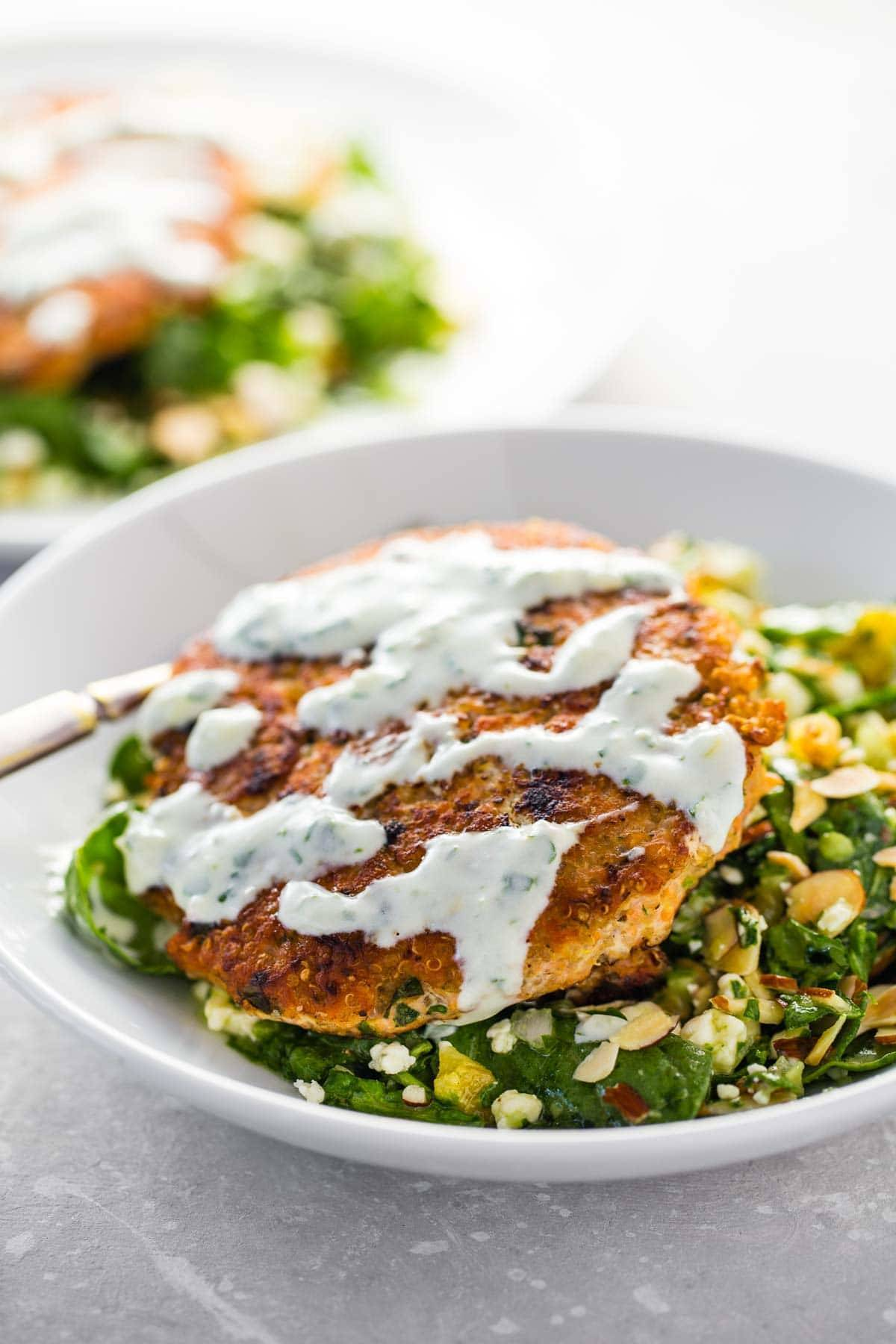 Lemon herb salmon burgers recipe pinch of yum lemon herb salmon burgers a healthy fresh recipe that is a must for salmon ccuart Gallery