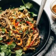 A picture of Spicy Peanut Soba Noodle Salad