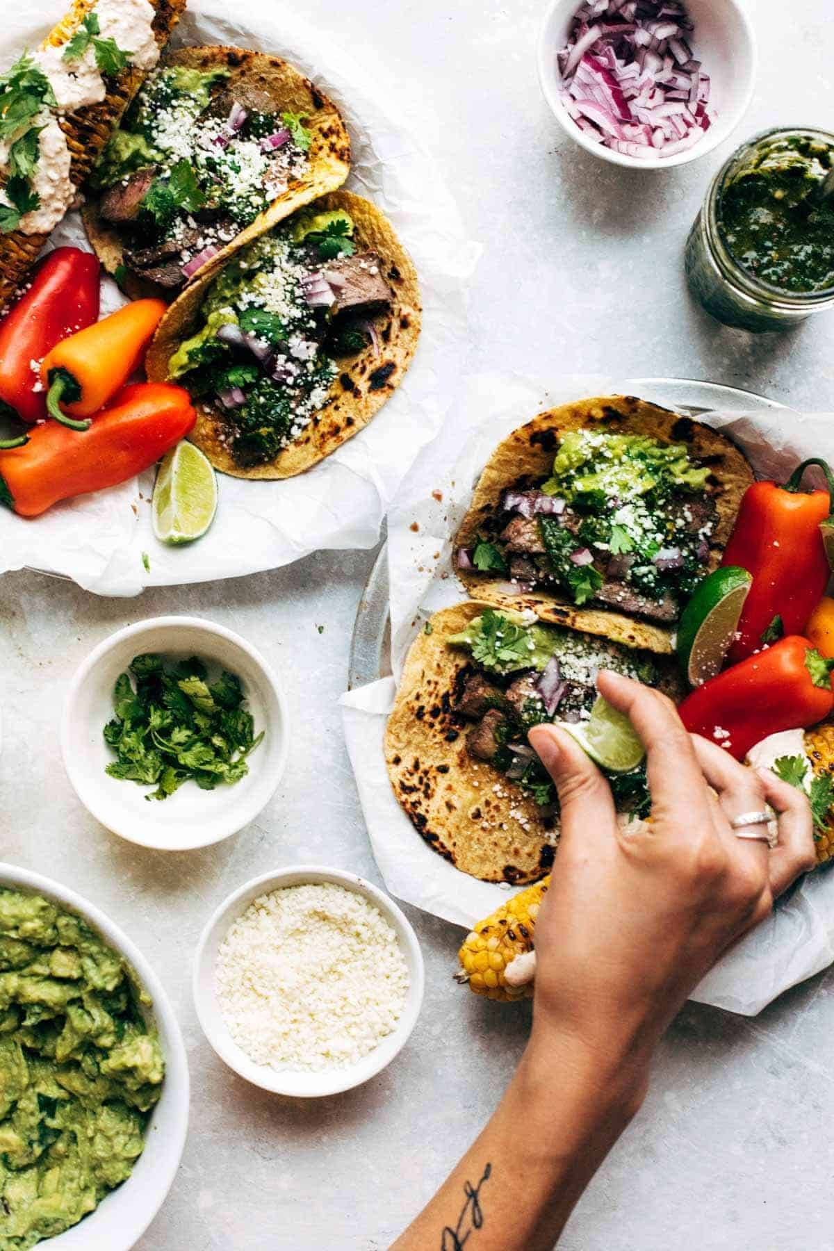 Rockin? Chimichurri Steak Tacos