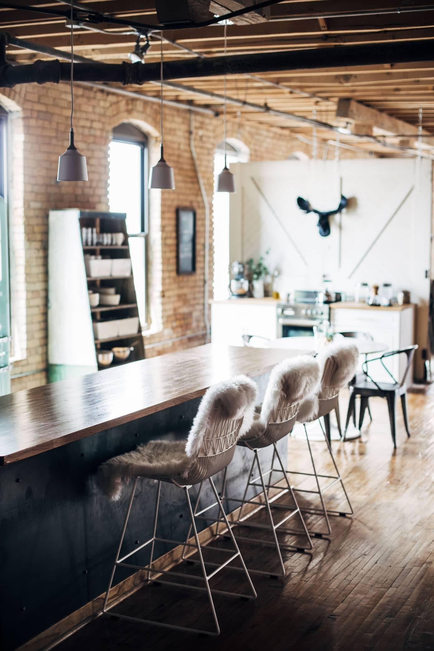 Home Sweet Studio: an industrial modern office and studio makeover | pinchofyum.com