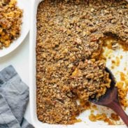 A picture of Sweet Potato Casserole with Brown Sugar Topping