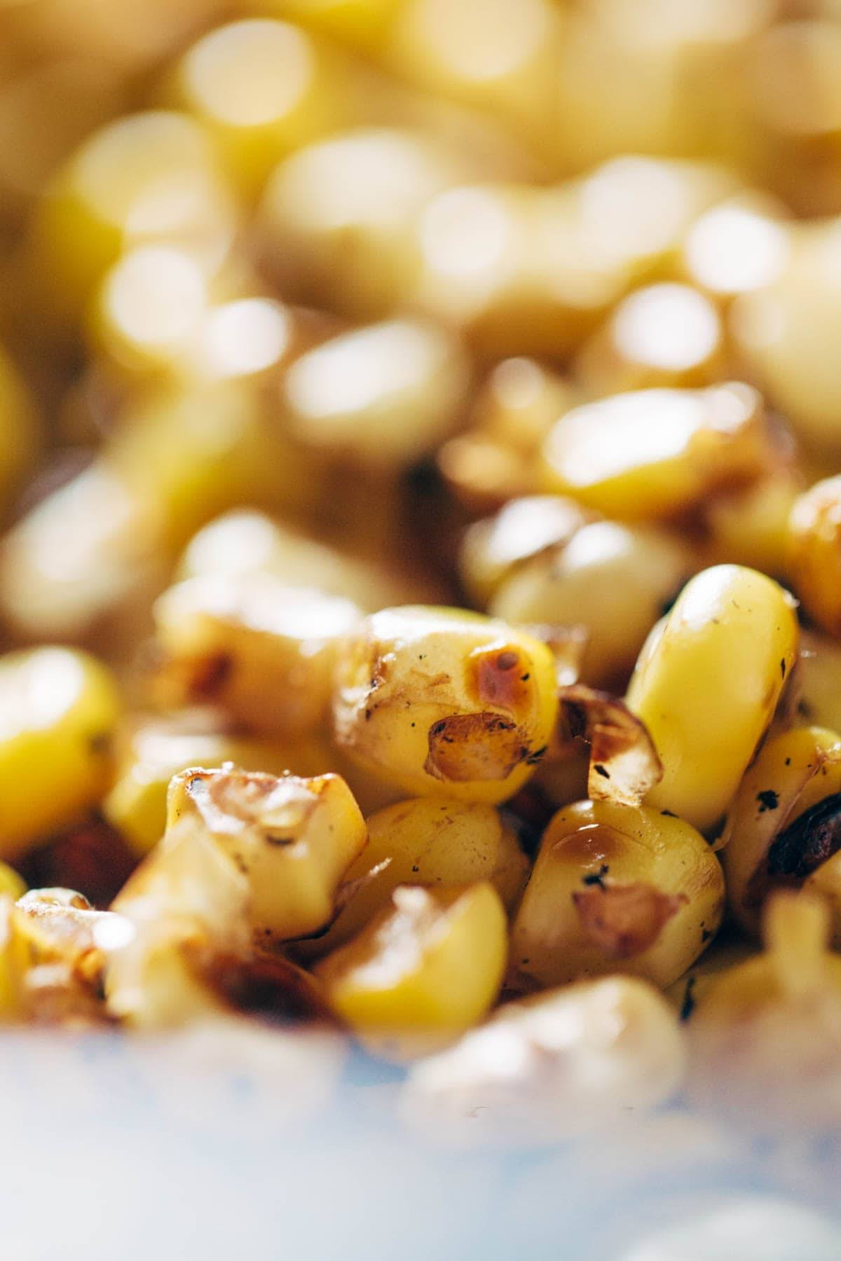 Roasted Corn.