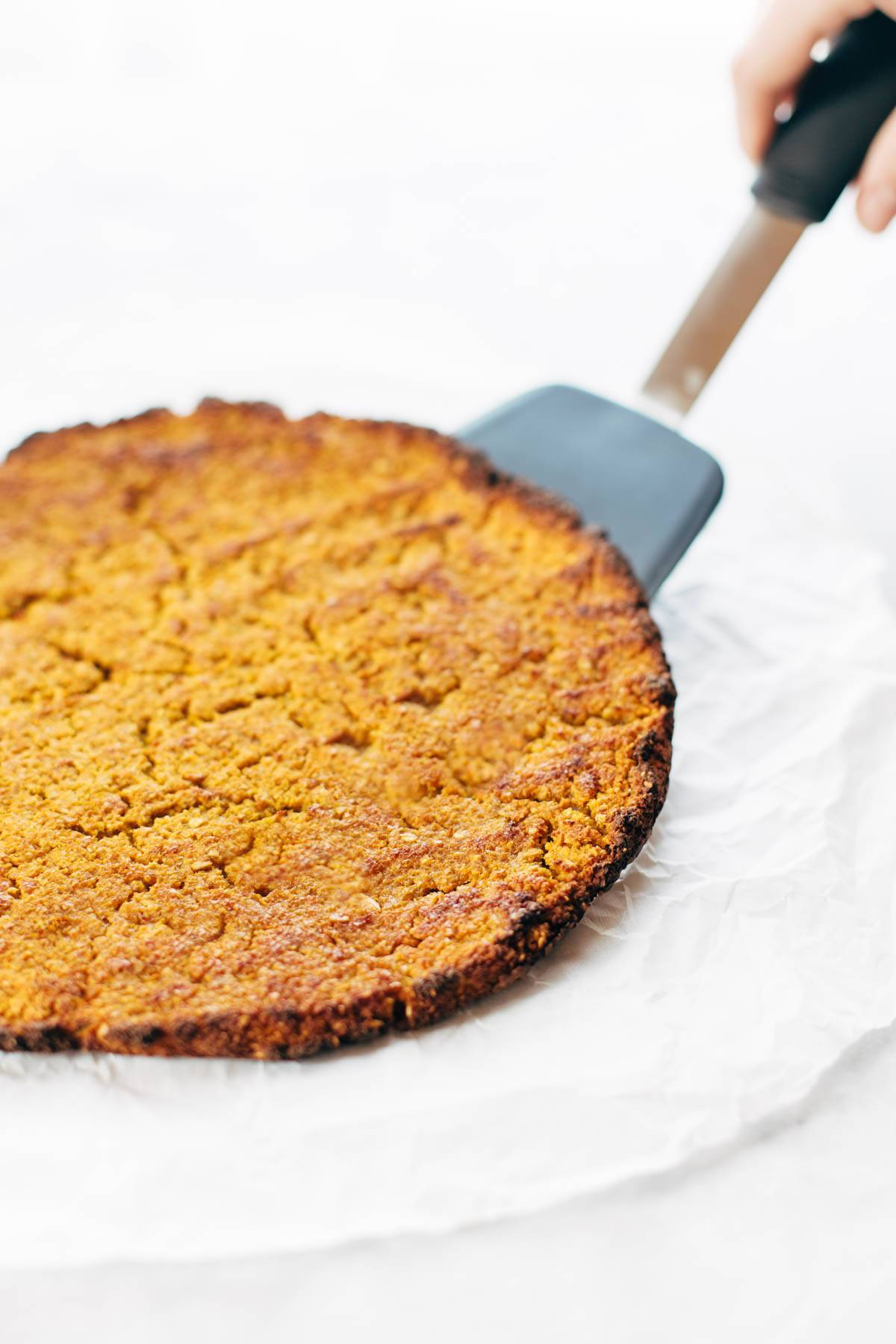 Sweet potato crust.
