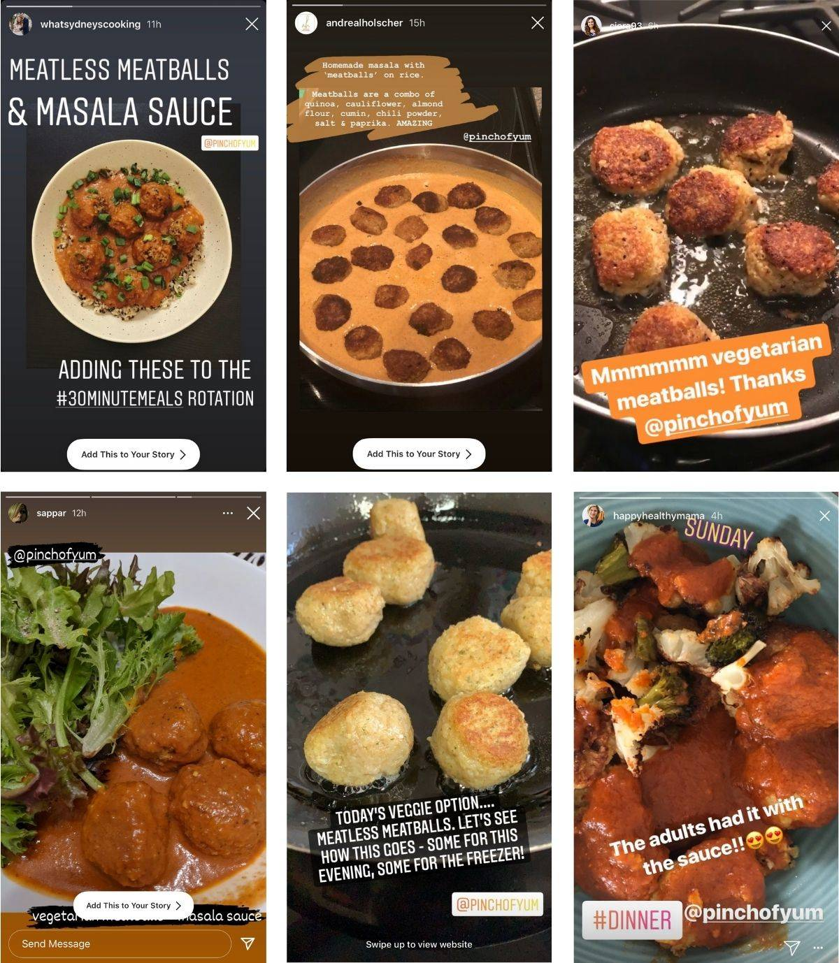Reader images of the 30 Minute Vegetarian Meatballs recipe.