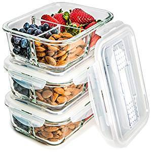 Meal prep containers.