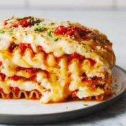 Basic + Awesome Vegetarian Lasagna
