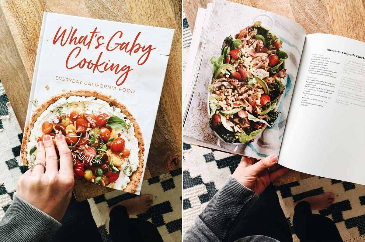 What's Gaby Cooking Everyday California Food cookbook.