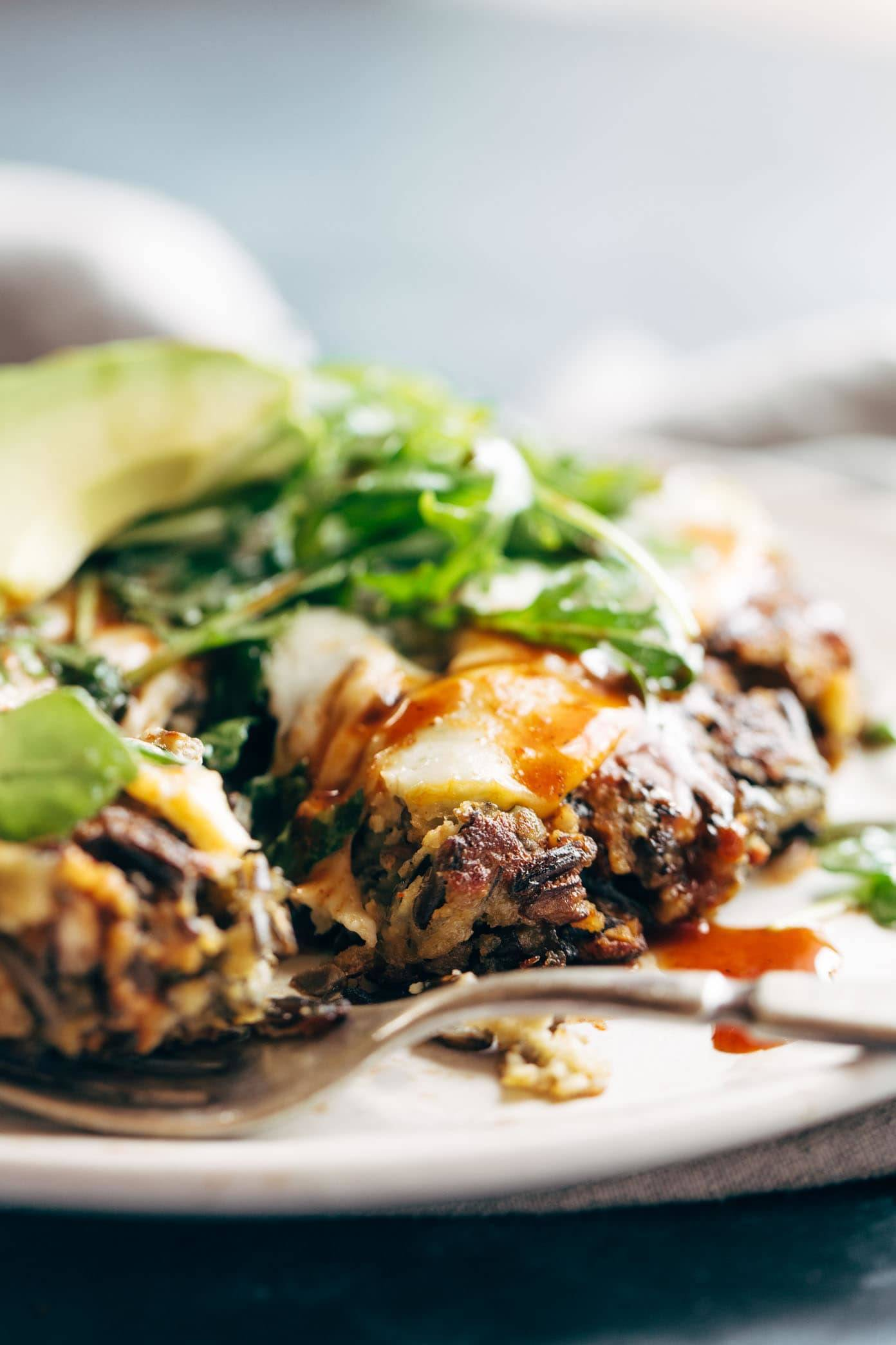 The Ultimate Wild Rice Burgers Recipe Pinch Of Yum