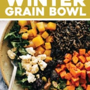 Winter Grain Bowl with Balsamic Dressing