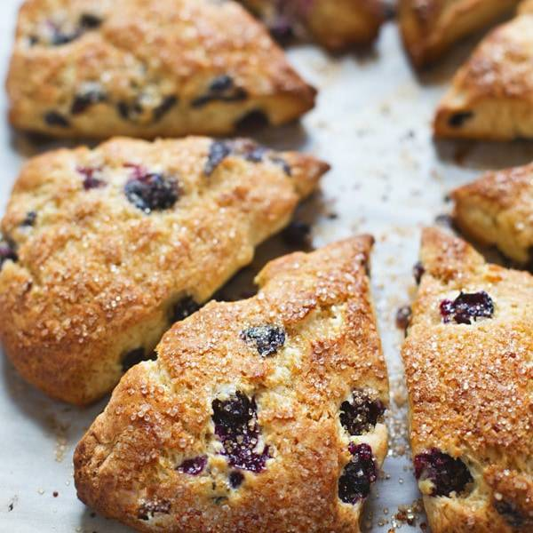 A picture of Bakery Style Blueberry Scones