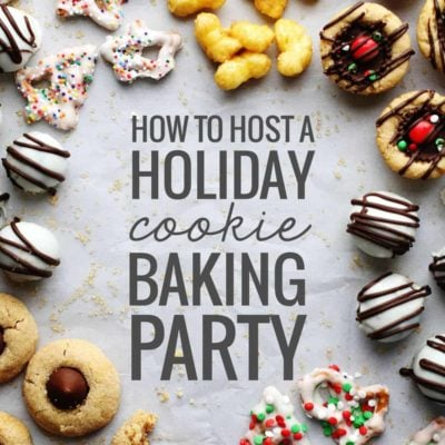 Holiday Cookie Baking Party