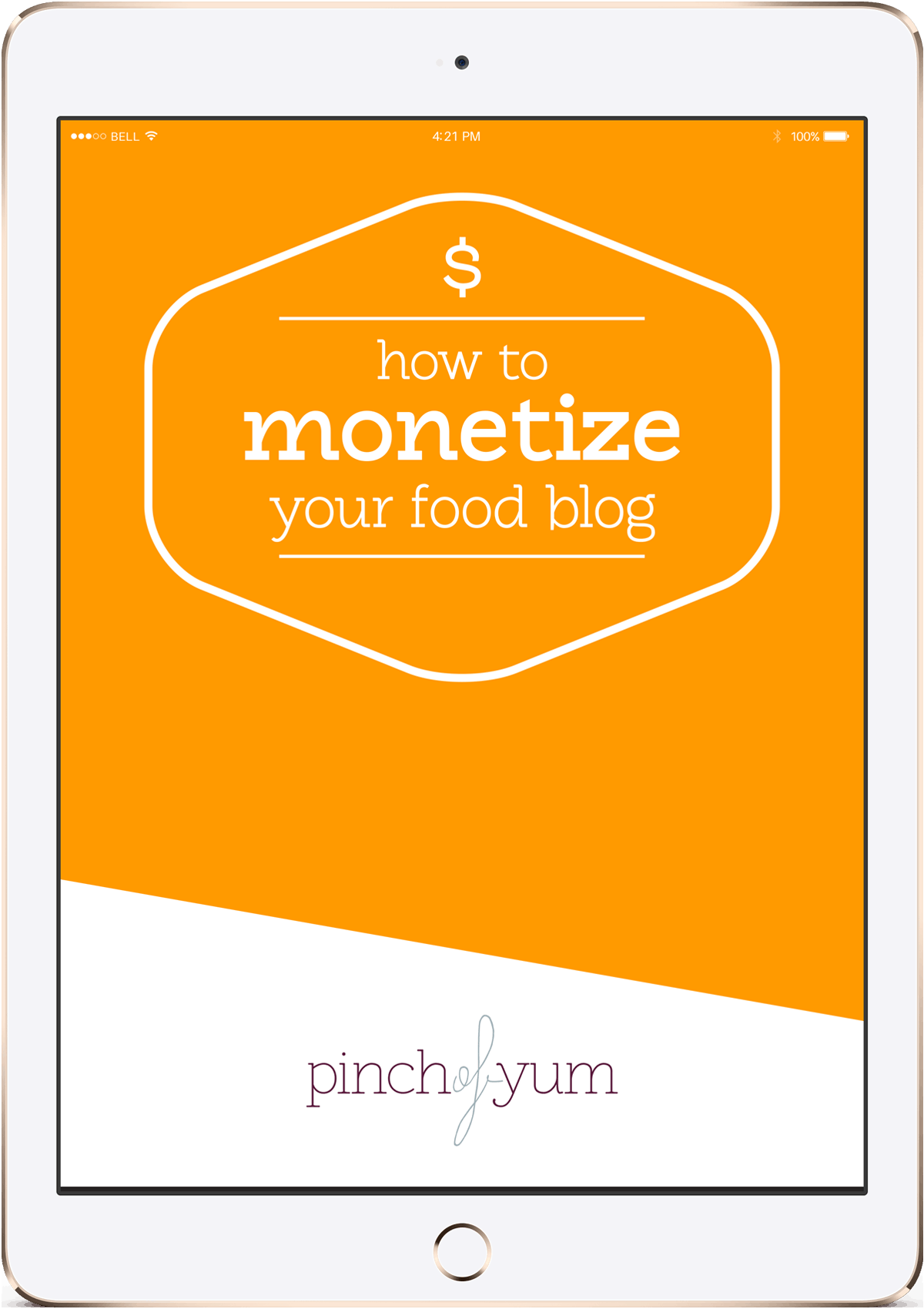 How to Monetize your Food Blog on an iPad