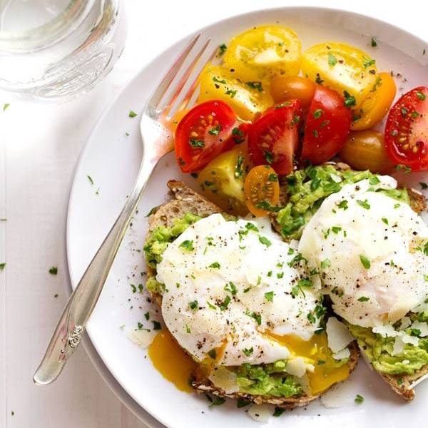 a58077d397 Simple Poached Egg and Avocado Toast Recipe - Pinch of Yum
