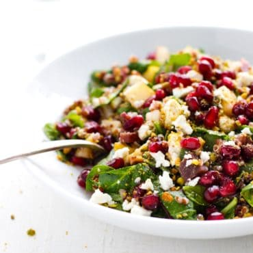 Winter Power Quinoa Salad